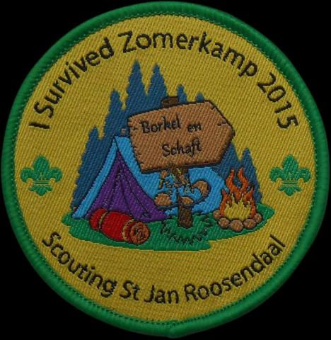 geweven emblemen badges patches insignes 36